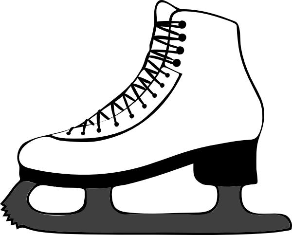 Drawing skateboard easy. Free cliparts hockey skates