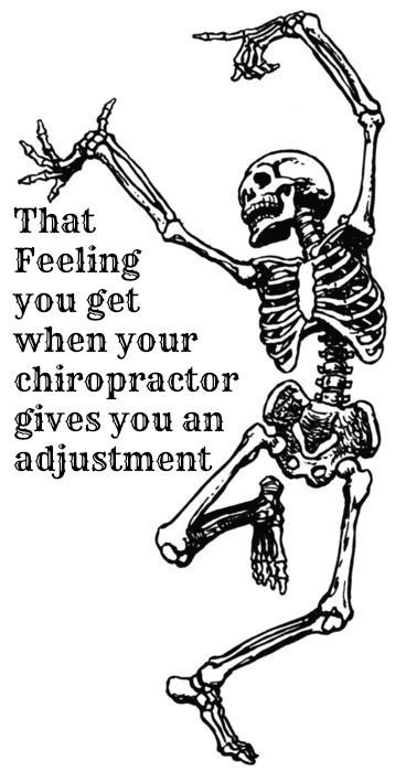 Skeleton clipart chiropractor. Best chiropractic funny images