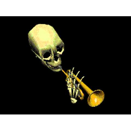 Skull Trumpet Transparent Png Clipart Free Download Ya Webdesign