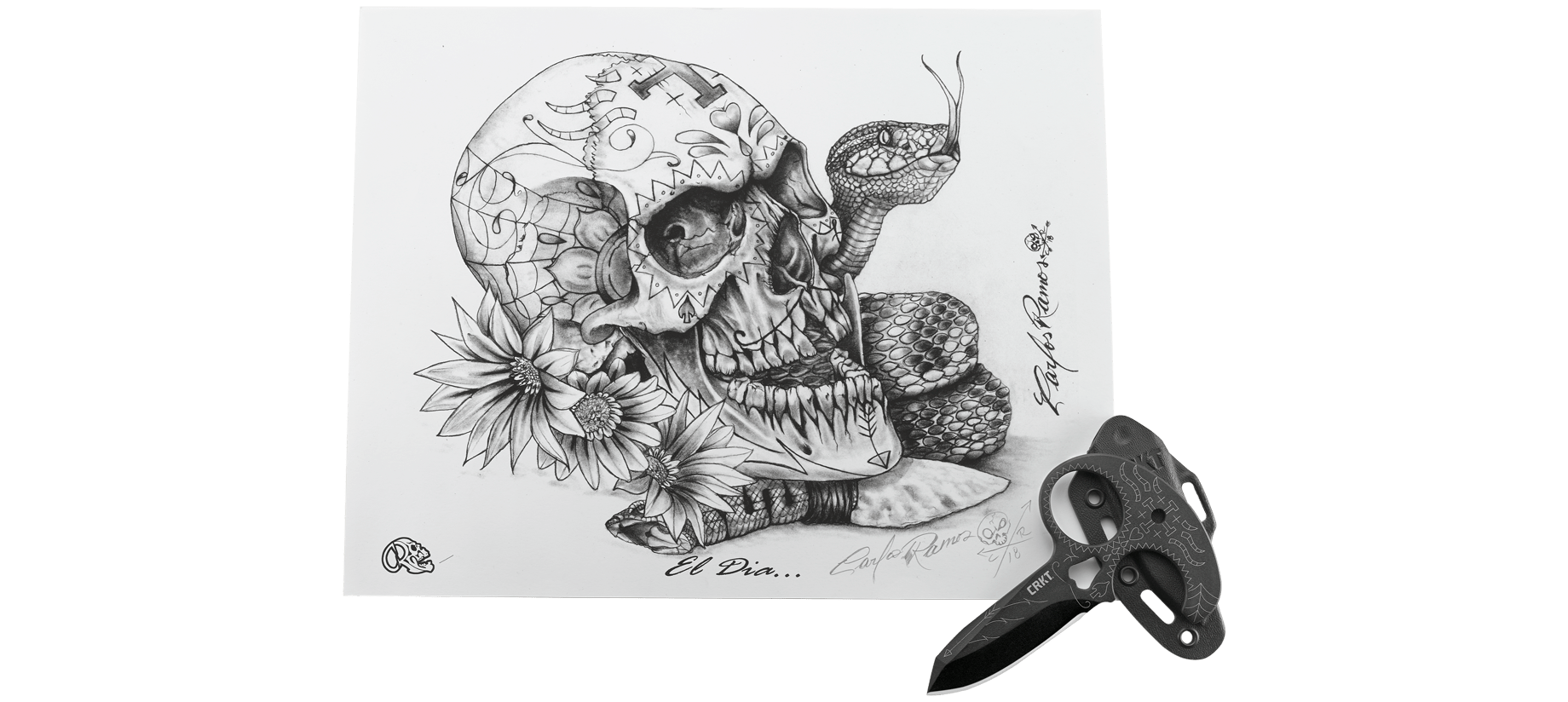 Drawing browser dia. Tecpatl w limited edition