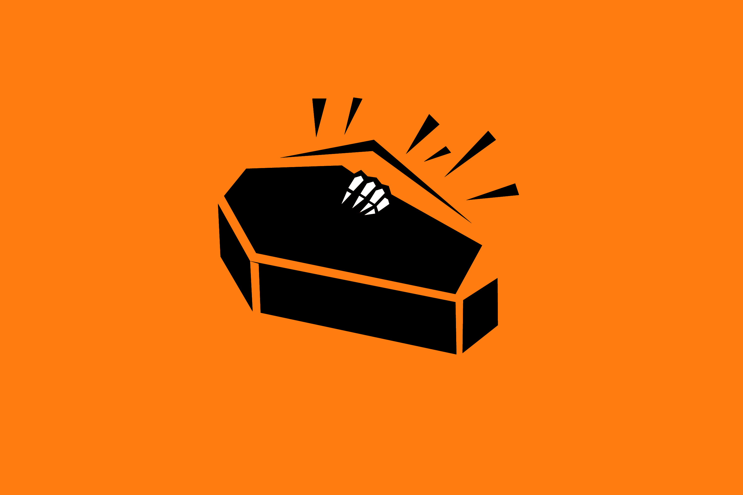 Coffin clipart halloween skeleton. Image of creepyhalloweenimages a