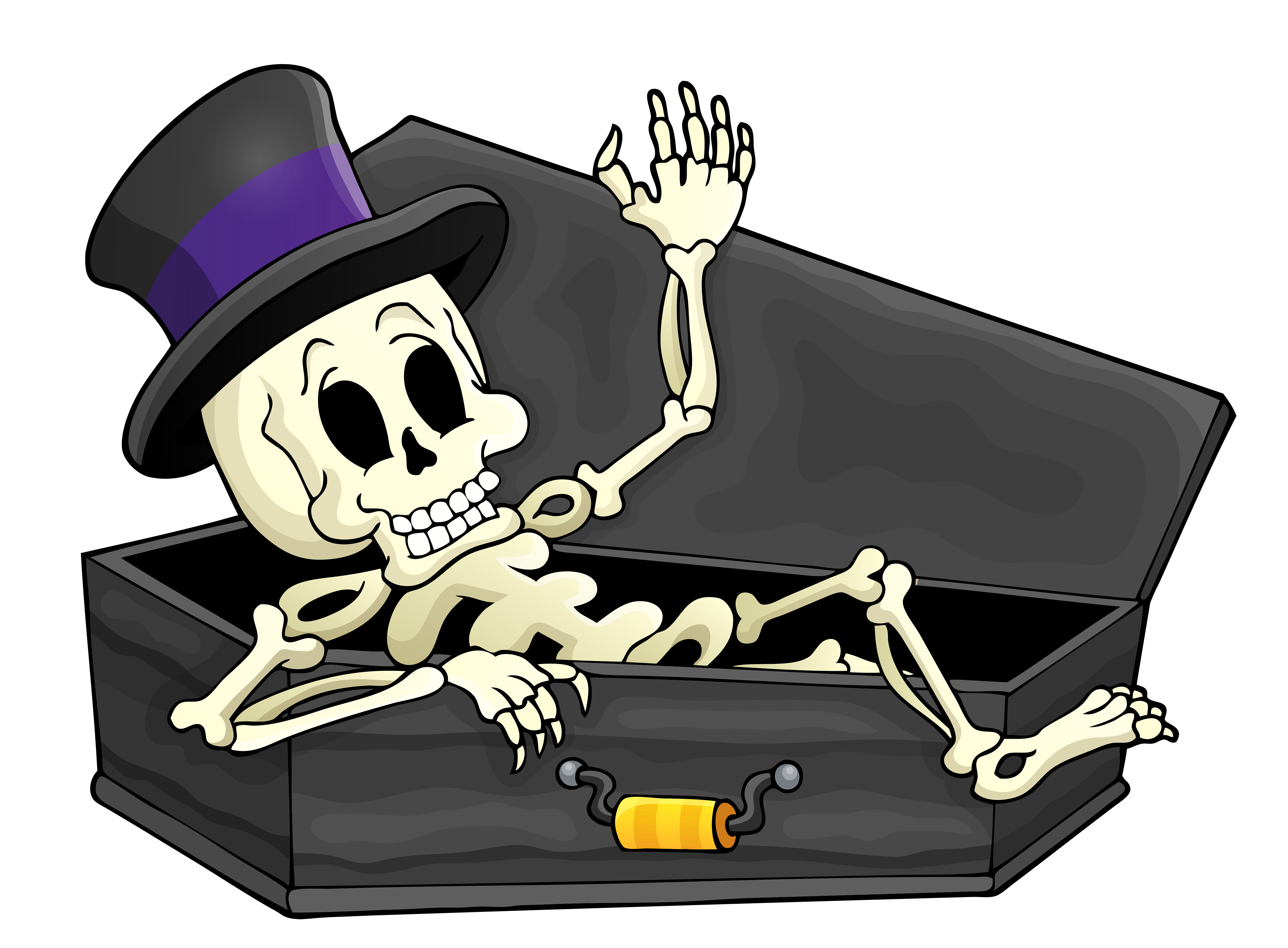 cartoon coffin png
