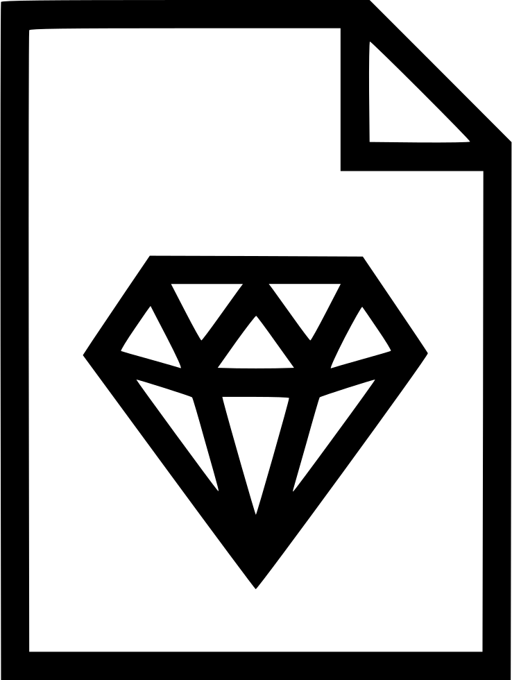 Sketch svg. Diamond png icon free