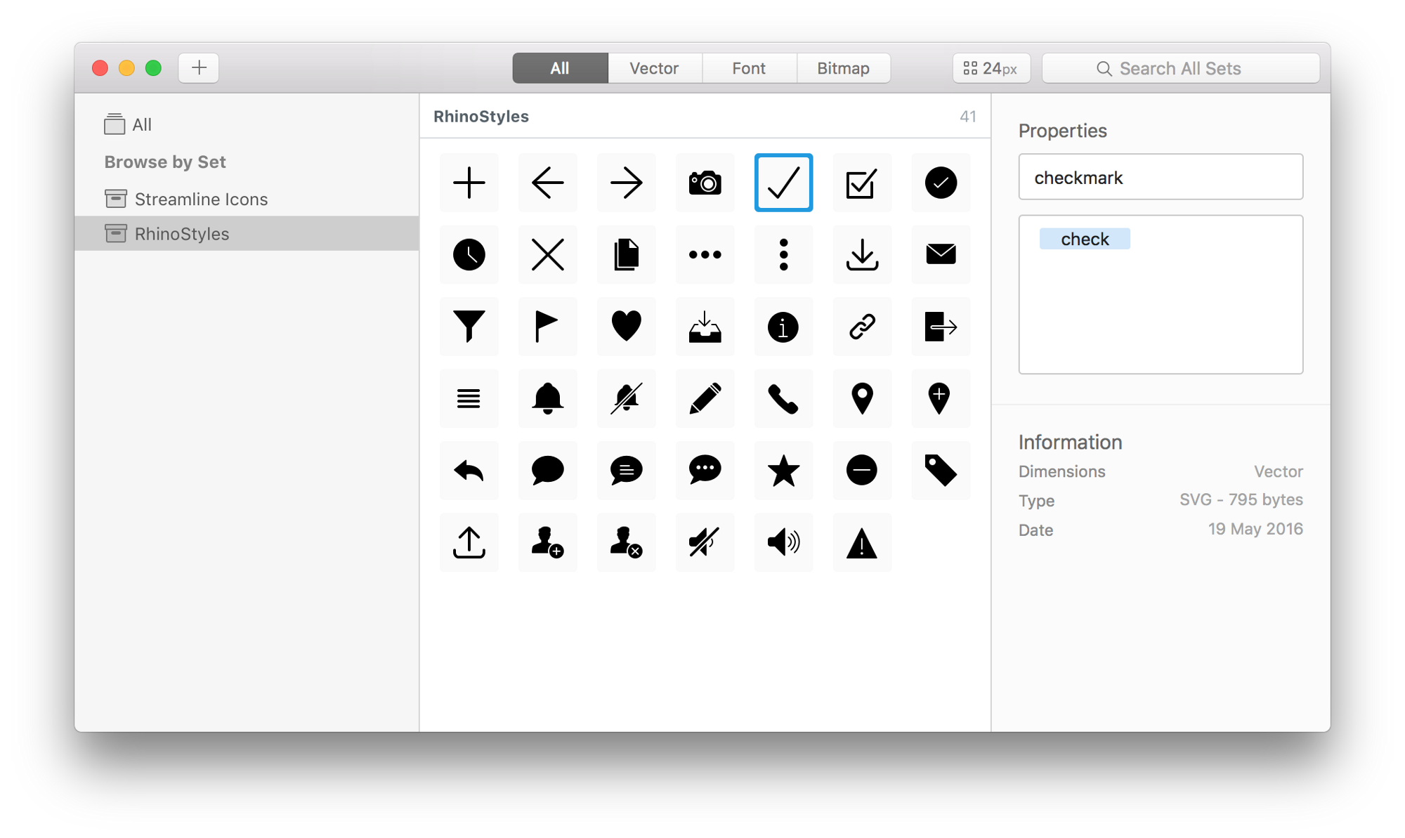 Sketch svg simple. From to finish icons