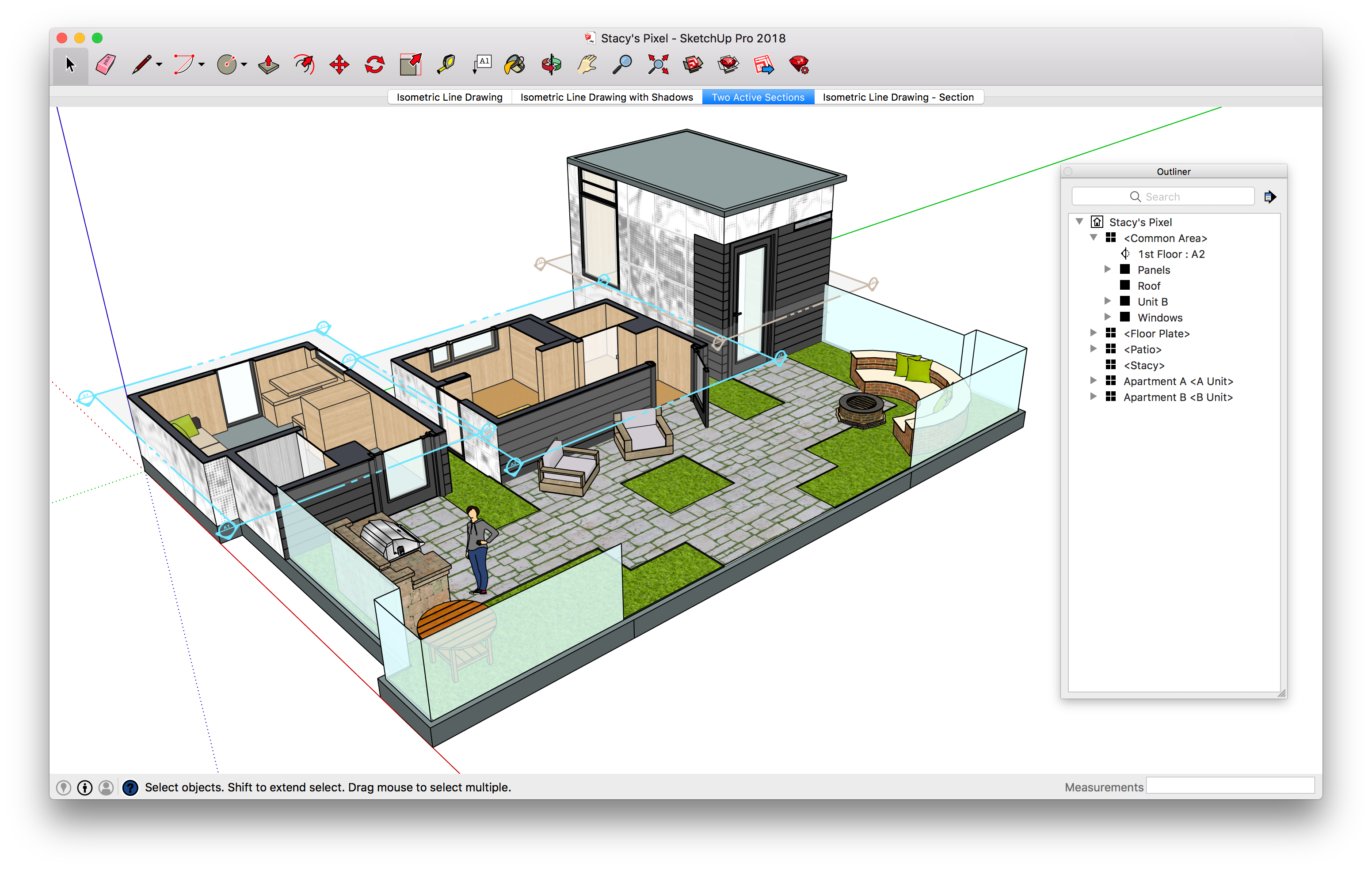 Sketchup drawing. What s up with