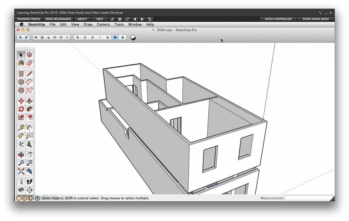 Sketchup drawing. Amazon com learning pro