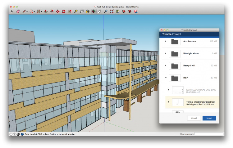 Sketchup drawing mechanical. Trimble releases for a