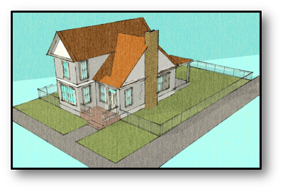 Sketchup Drawing Modern Architecture Transparent & PNG Clipart Free
