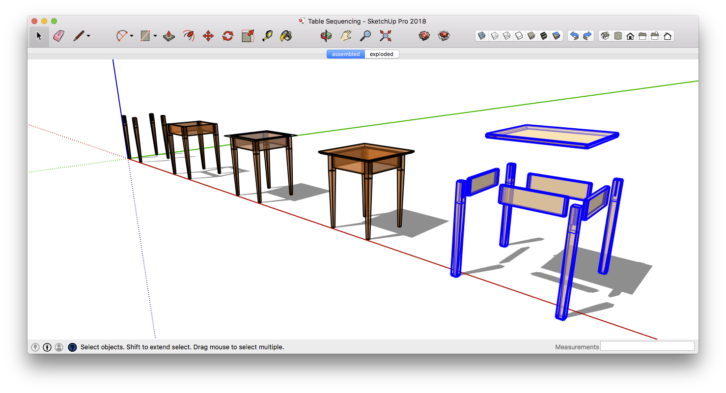 Drawing dimension sketchup. Success for woodworkers define