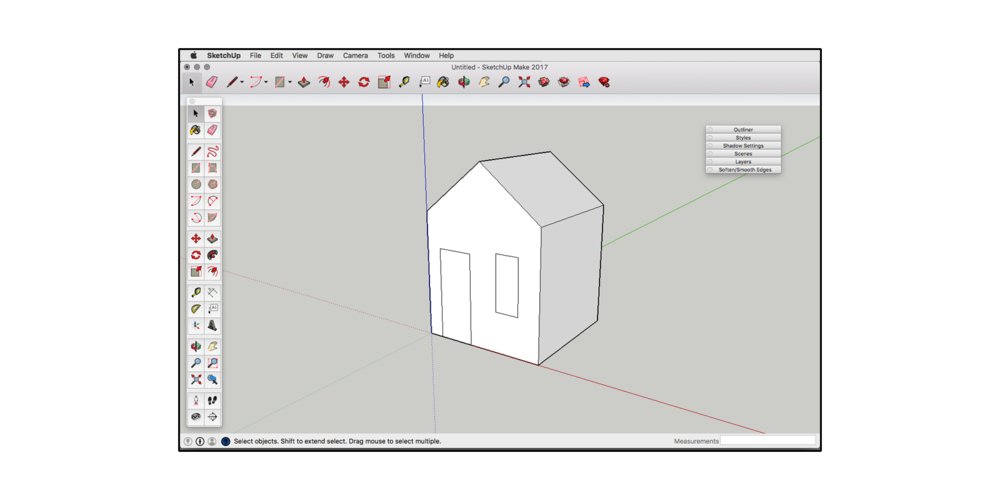 Drawing dimension sketchup. Guide how to get