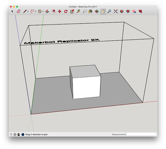 Sketchup drawing technical. Osx monitors different resolution