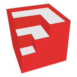 Sketchup svg. Google icon simply styled