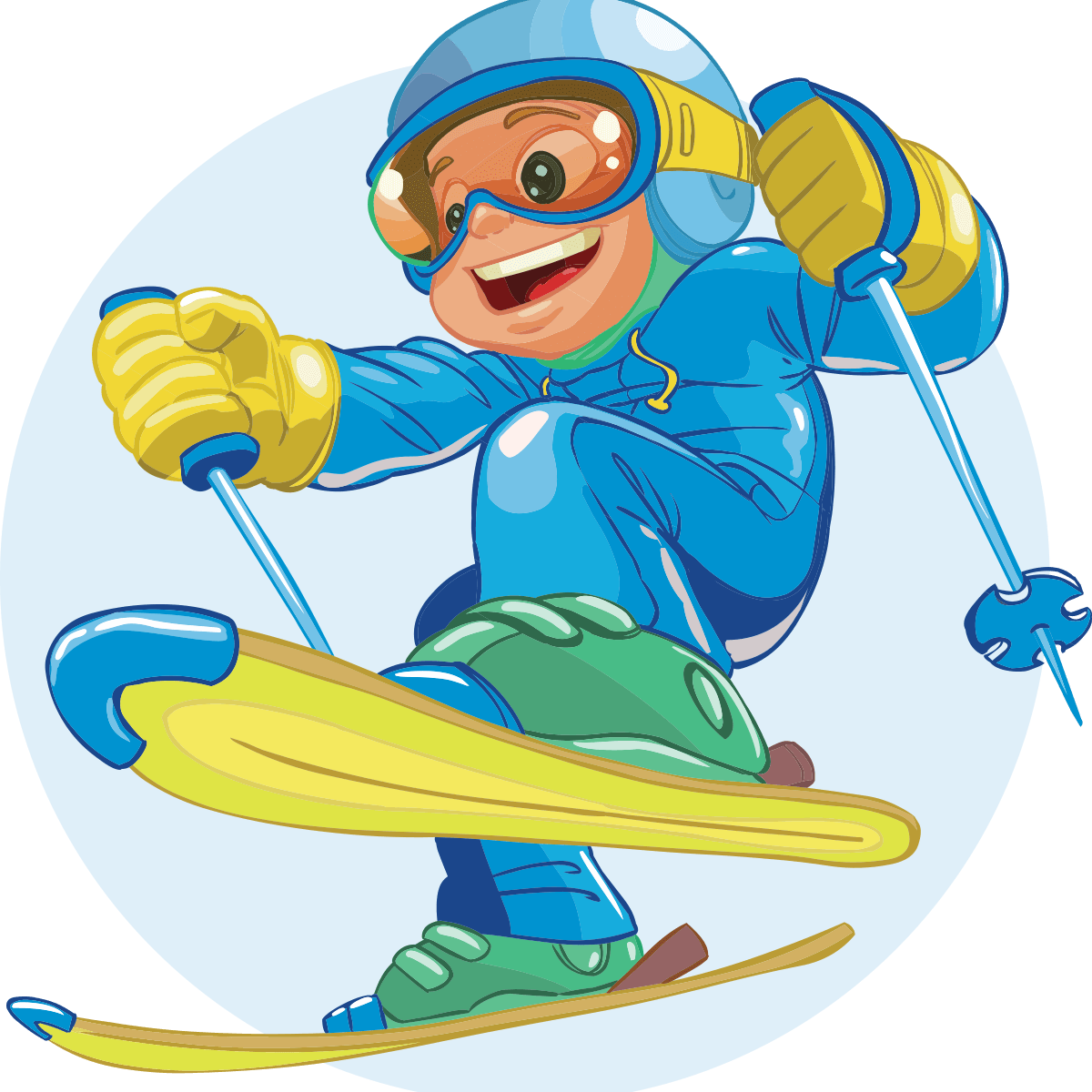 Ski clipart blue. Free cross country skiing