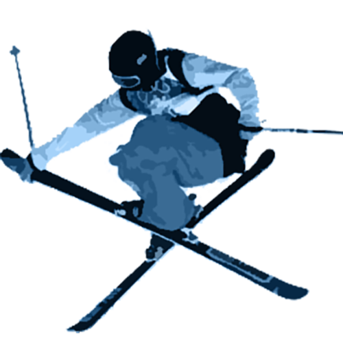 Ski clipart freestyle skiing. Cafsc central alberta club