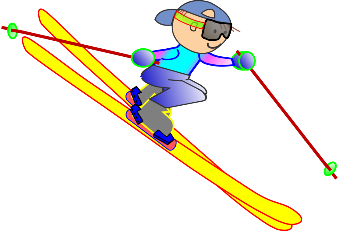 Skier clipart slalom skiing. Alpine freeskiing sporting goods