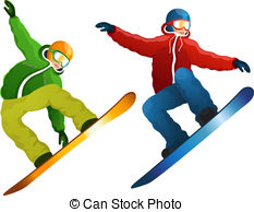 Illustrations and clip art. Skier clipart clip library