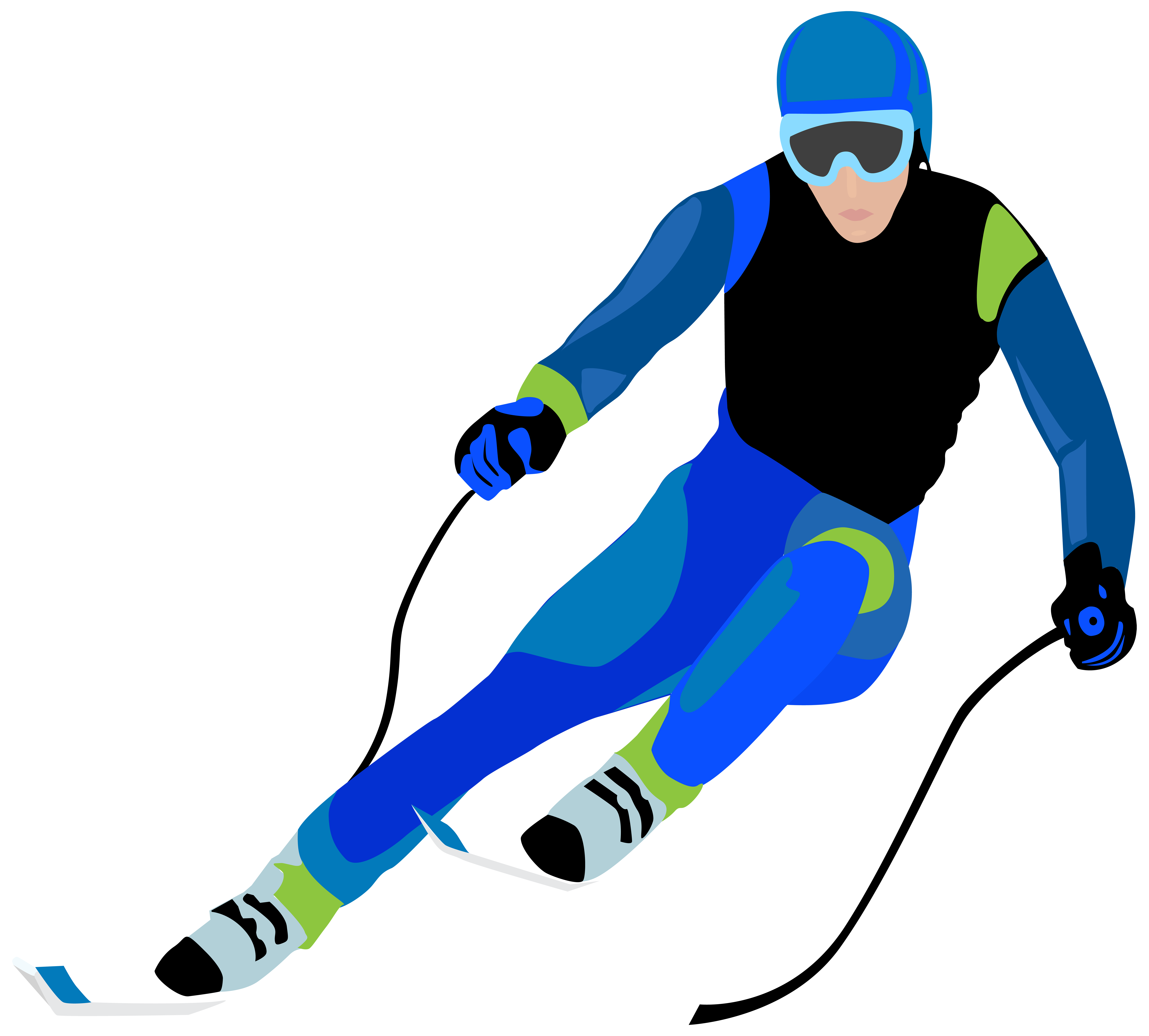 Skier clipart. Clip art image gallery