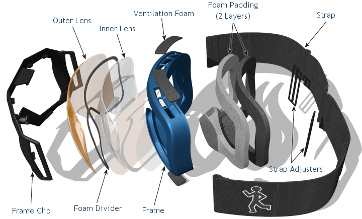 Skiing clipart ski goggles. Index of equipment graphics