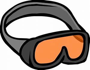 Skiing clipart ski goggles. Penguin pencil and in