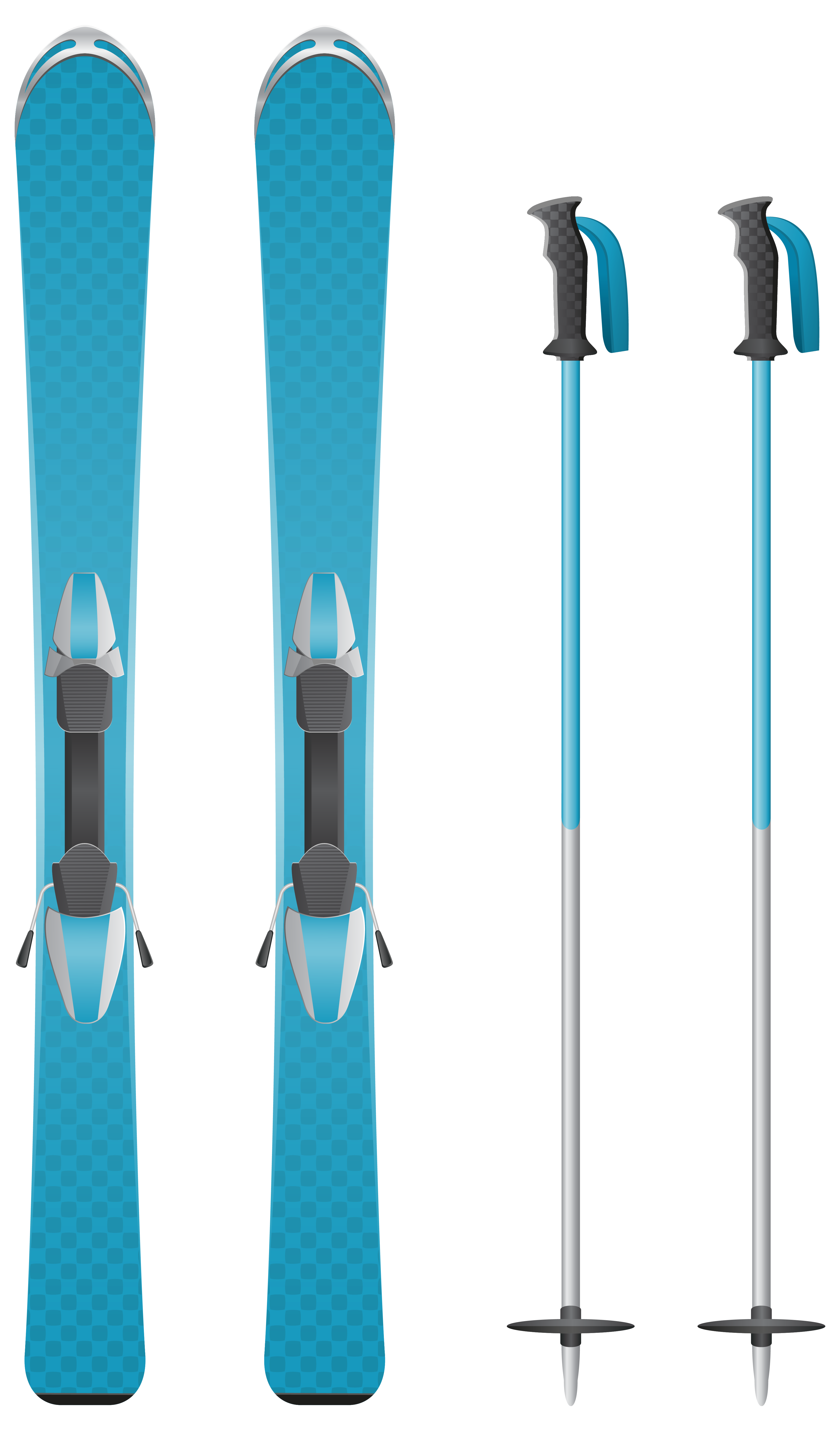 Skiing clipart transparent background. Blue skis png image