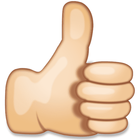 Skin clipart. Download thumbs up hand