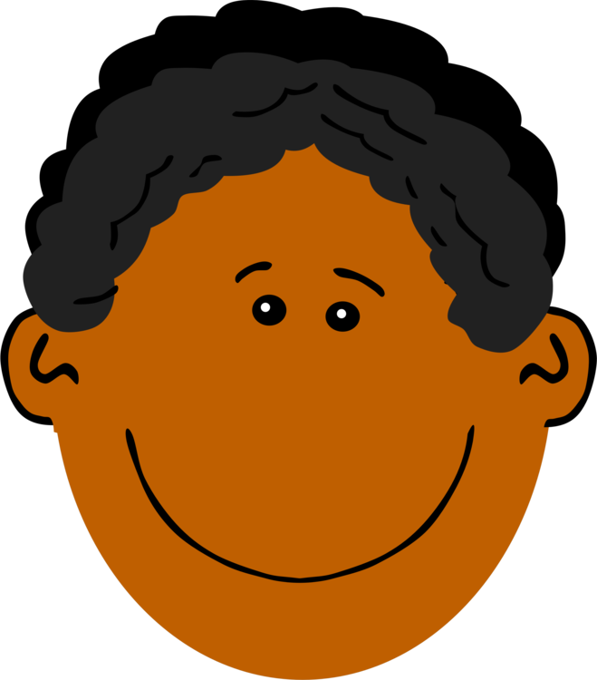 Dark skin human computer. Afro clipart file clip library stock
