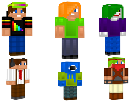 Skin minecraft png download. How to change your