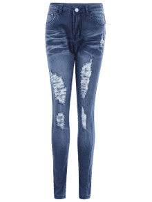 Skinny jeans png. Ripped high waist