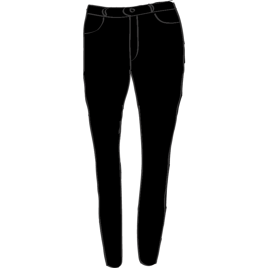 Skinny jeans png. Unco