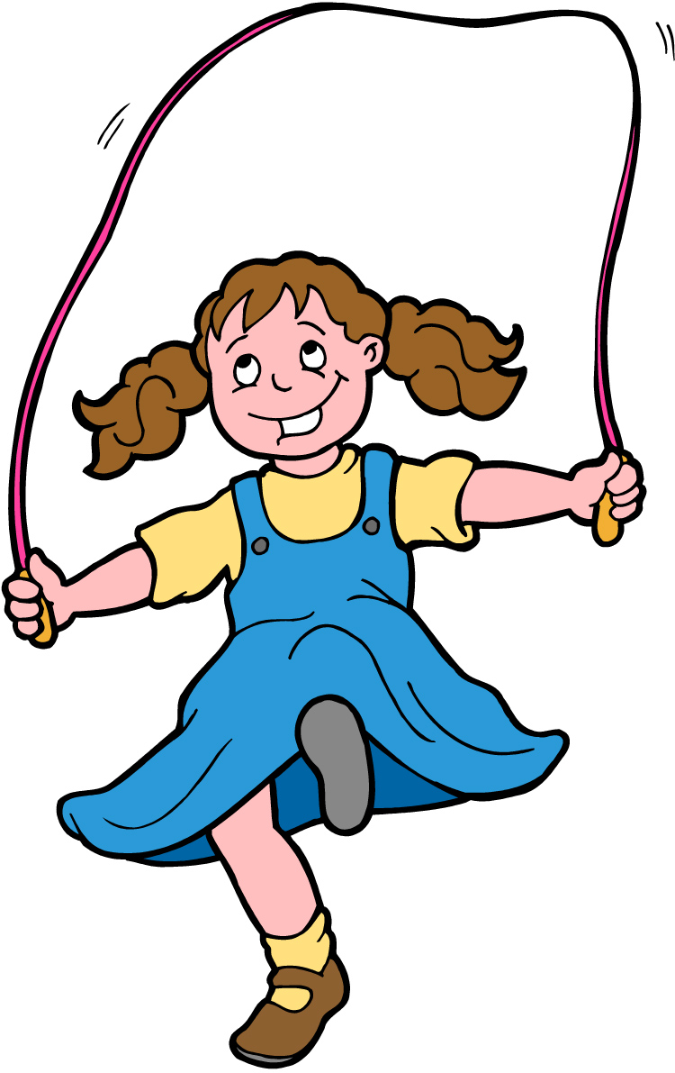 Skipping Rope. Clipart station