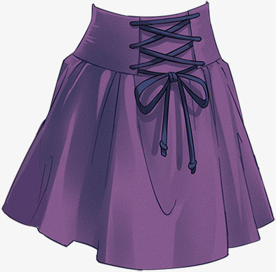 Skirt clipart purple object. Clothing material pattern png