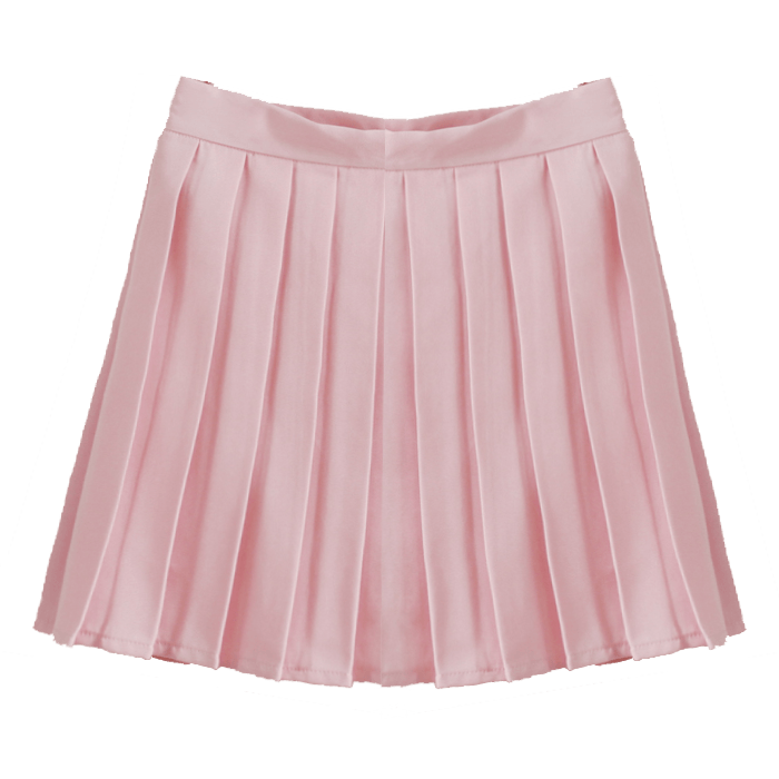 transparent skirts