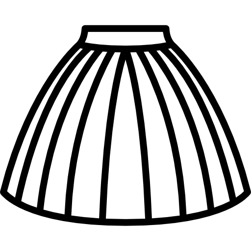 Skirt vector png. Tulle free fashion icons