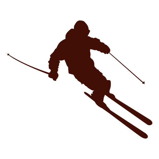 Ski mountain downhill transparent. Skier vector clip library library