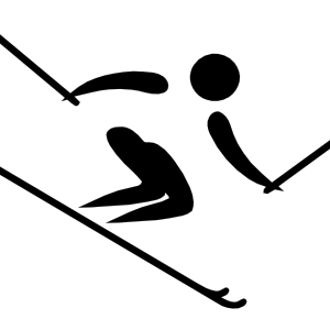 Skis drawing alpine skiing. Skiinglogos google search could