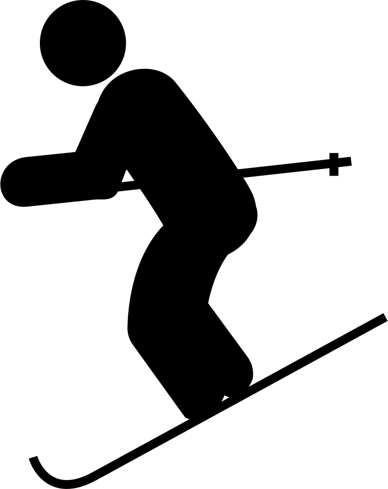 Skis drawing ski hill. Skiing jpg transparent