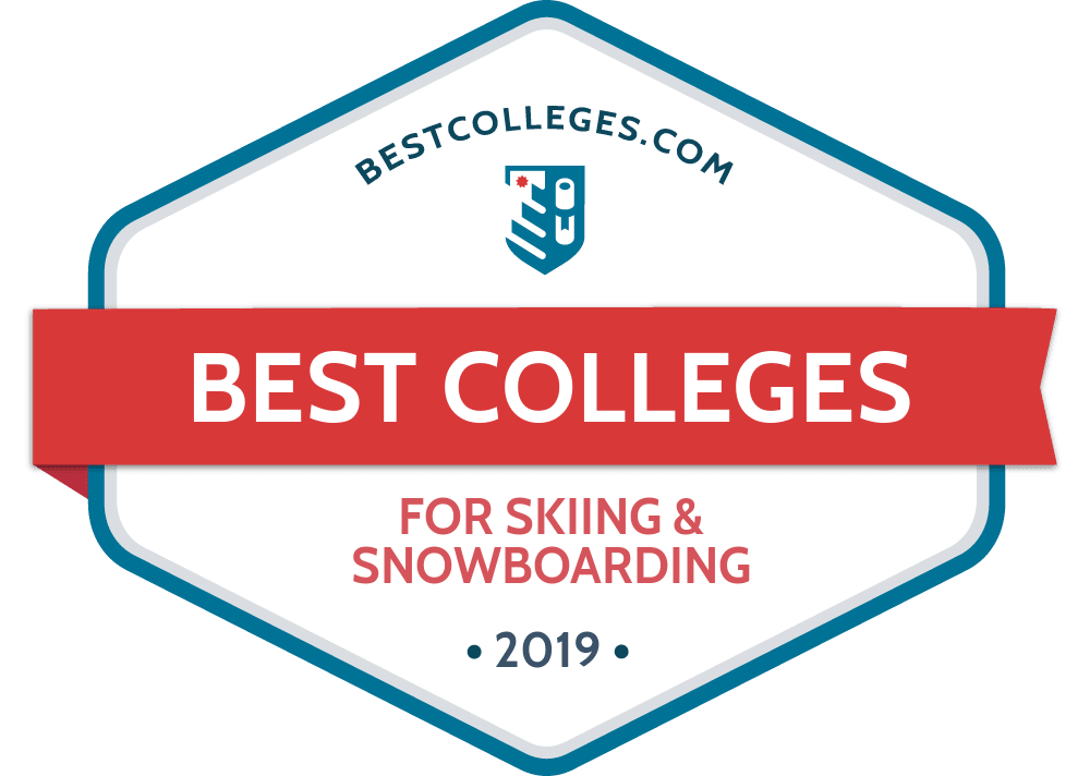 Snowboarder drawing ski. The best schools for