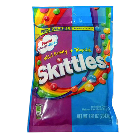 Skittles transparent 41 ounce. Wrigley page great service