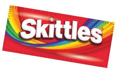 Skittles transparent border. How much exercise will