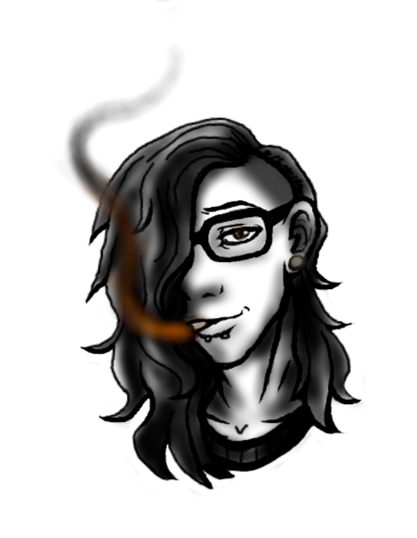 Skrillex drawing. By rinzler chan on