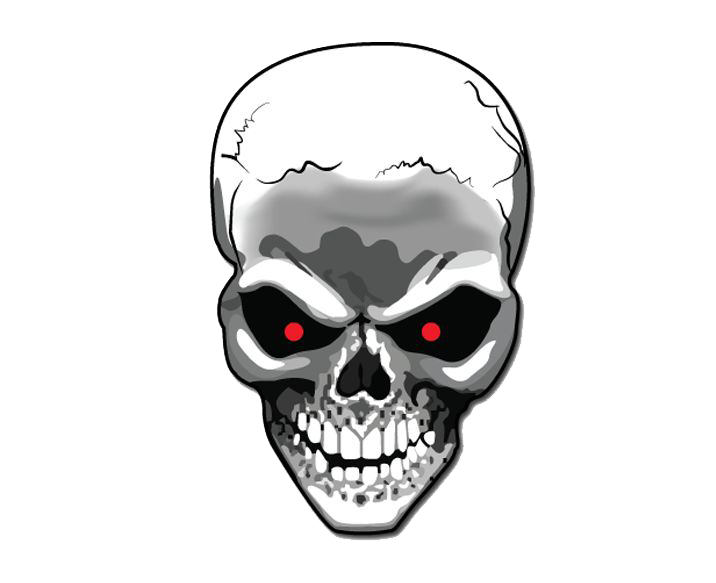 Skull art png. Images the symbol of