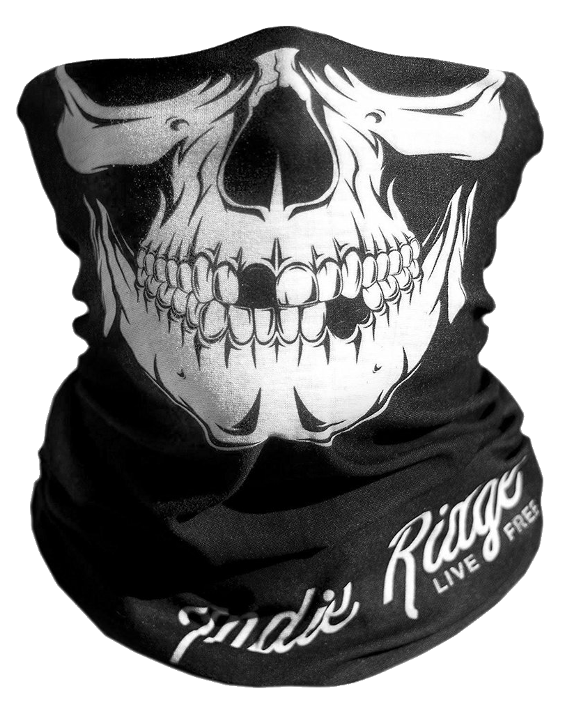 Transparent bandana mouth. Skull caveira lucianoballack report