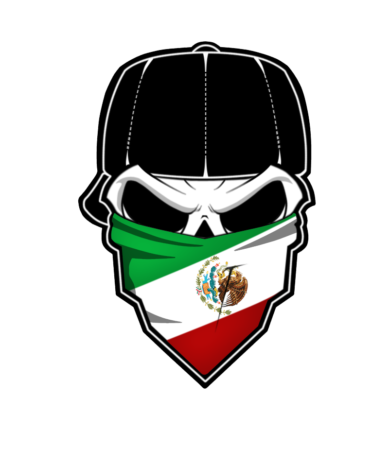 Skull bandana png. Mexico by changy on