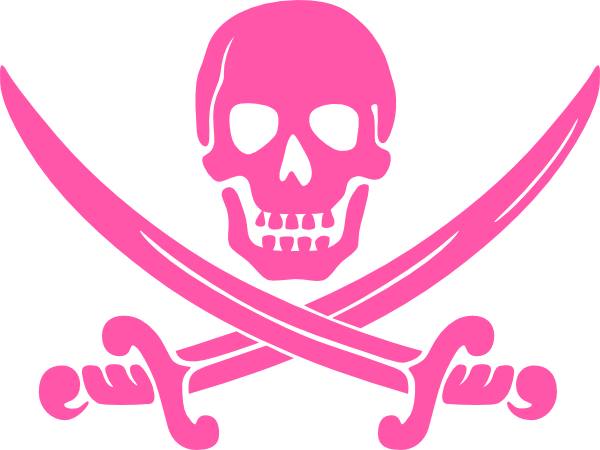 Pirate skull and crossbones png