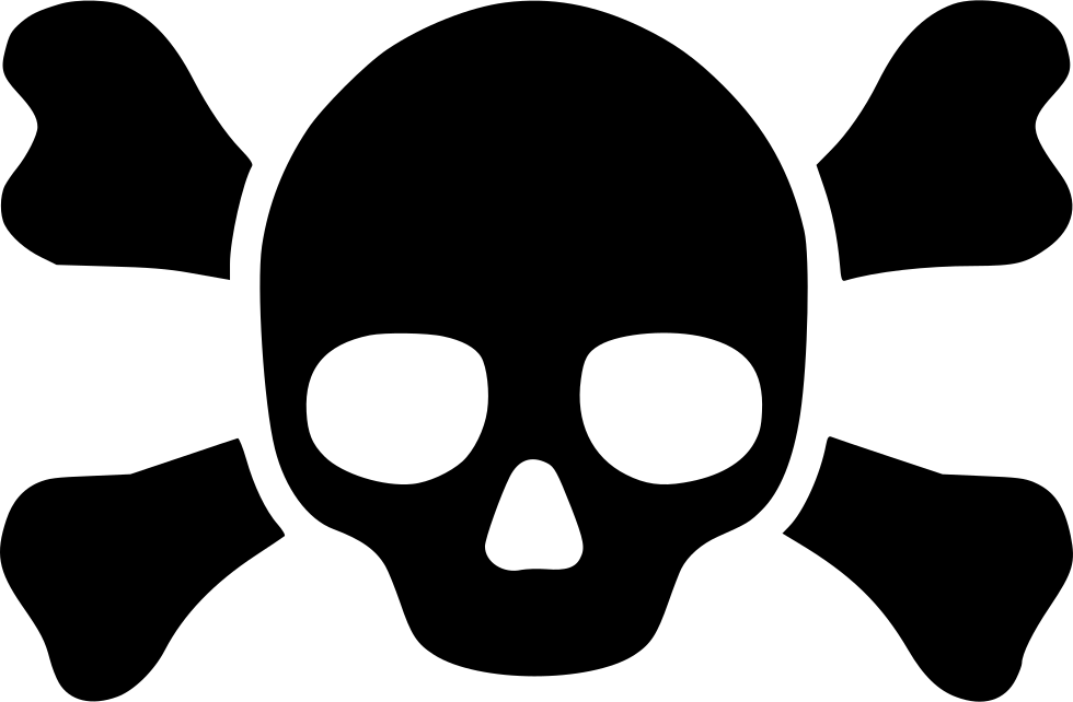 Crossbones svg icon free. Skull and bones png image royalty free library
