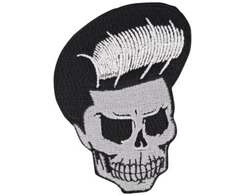 Skull drawing beanie png. Head patch suavecito hair