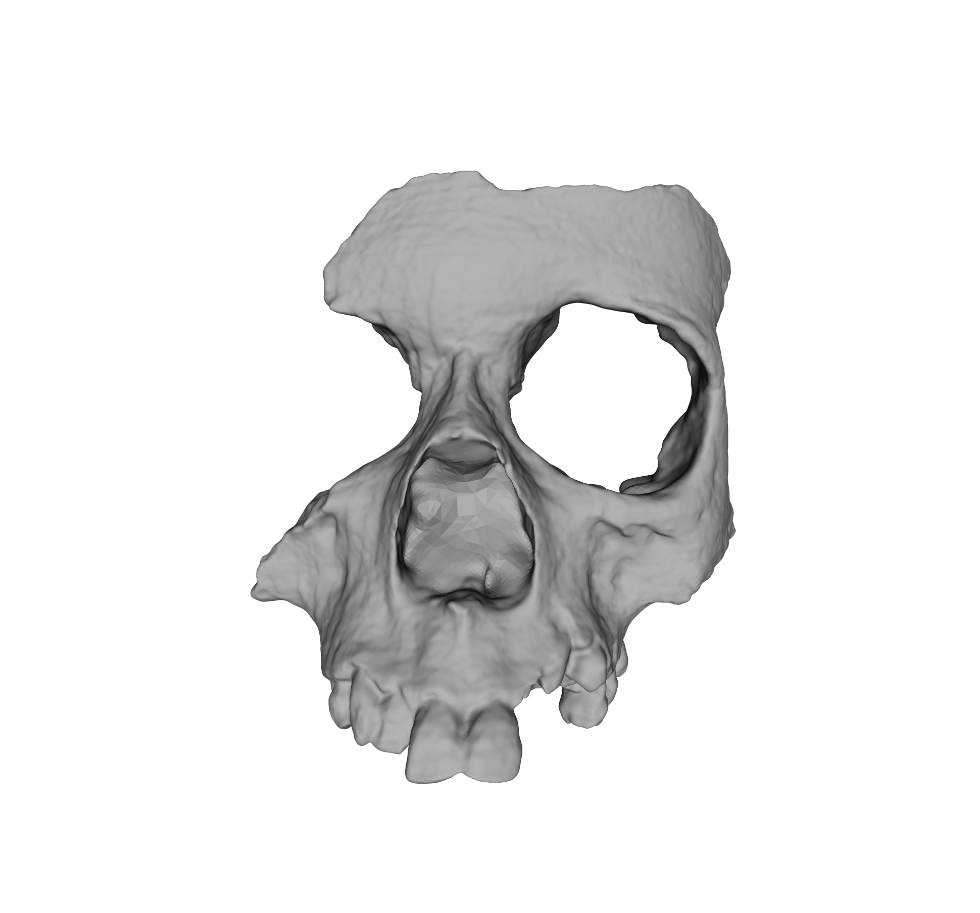 How d printing is. Skull face png jpg transparent library