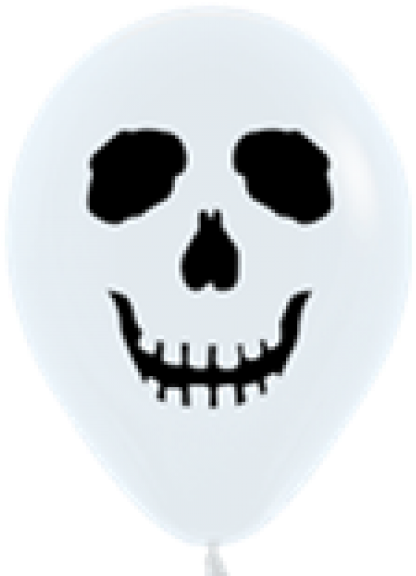 Skull face png. Download sempertex white side