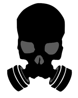 Skull gas mask png. Face clipart image free