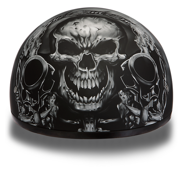 Skull with helmet png